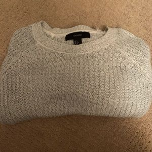 Forever 21 Women's Size L Crop Sweater